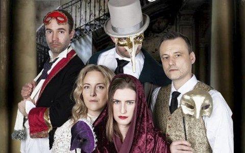 Hemmelighet: Denne teatergruppen lar deg hjelpe til med å løse mysterier i Kulturbadet fredag kveld.