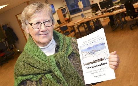 POPulært: Anne Kristine Nordstrand kan trygt slå fast at heftet «Fra fjord og fjære» har slått an. Nå blir det trolig mer av det slaget.