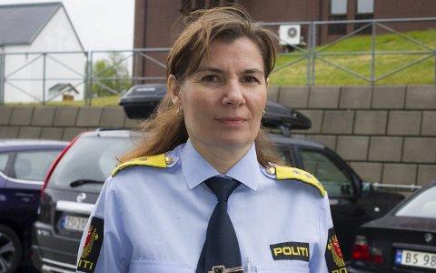 Politimester Ellen Katrine Hætta ved Finnmark politidistrikt.
