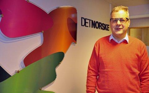 PÅ TUR: Terje Solheim er Aker BPs representant i nord. Neste år borer selskapet i Barentshavet. Foto: Svein G. Jørstad