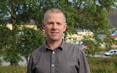 FORNØYD: Divisjonsdirektør for næring og kompetanse i Troms og Finnmark fylkeskommune, Børre Krudtå.