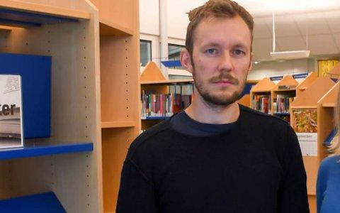 FØLER IKKE OPPFORDRINGEN: Vegar Einvik-Heitmann vil ikke følge oppfordringen om å vurdere eget partimedlemskap.