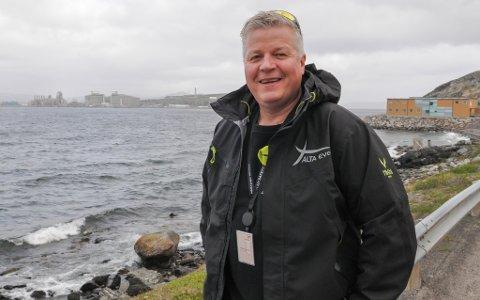 VERDIFULL KONTRAKT: Stig Anton Eliassen i Alta Event & Teltutleie har fått en svært verdifull kontrakt på Melkøya. Foto: Trond Ivar Lunga