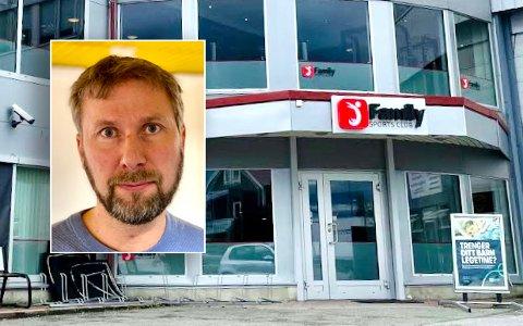 Kommuneoverlegen har varslet krav om tiltak på Family Sports Club. Jonas Holte sier at dårlig luft kan bidra til smittespredning.