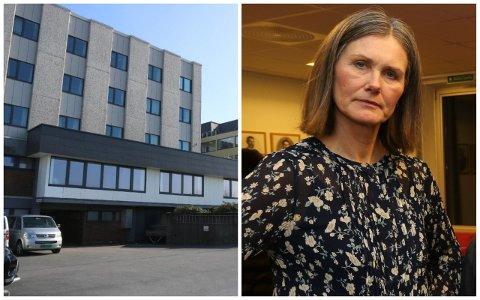 BEKYMRA: Mange har sagt opp ved Hå sjukeheim. Det bekymrar Solfrid Fuglseth i Hå Ap.