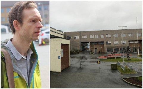 KORONASMITTE: - Det var ikkje med lett hjarta eg sende elevar og lærarar frå Bryne ungdomsskule i karantene, seier  kommuneoverlege i Time Øystein Fjetland Øgaard.