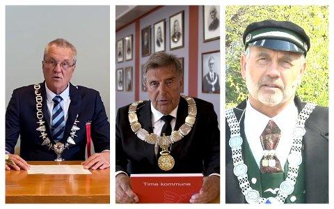 TALE: Sigmund Rolfsen i Klepp, Reinert Kverneland i Time og Jonas Skrettingland i Hå.