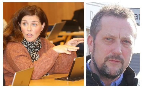 USAMDE: Siri Bloch Lindtveit (KrF) ser stort behov for ei ny kyrkje på Kleppe. Einar Erga (Ap) gjer det ikkje.