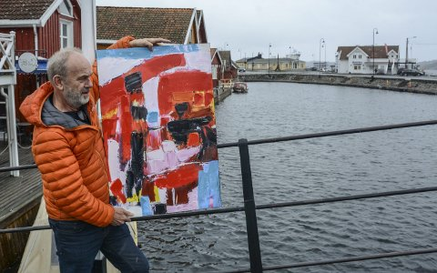Kunst: Per Bjørnar Knudsen, som også maler selv, inviterer til en stor utendørs kunstutstilling til sommeren. Da kan publikum vandre rundt Blindtarmen og se på malerier, keramikk, glassarbeider, stein og mye annet.