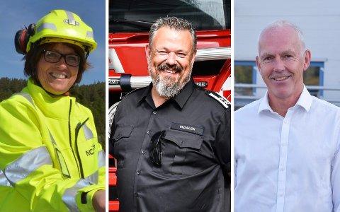 LEDIGE STILLINGER: NCC, Kragerø brannvesen og Vistin Pharma er blant dem som ser etter nye medarbeidere.