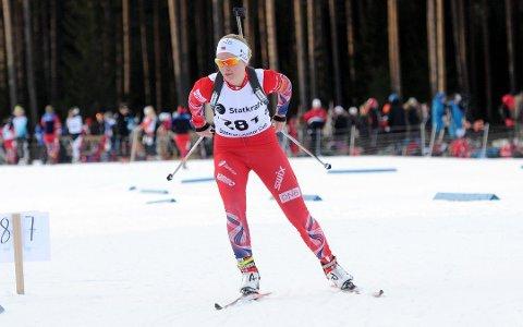 Ragnhild Femsteinevik vart nummer 42 i årets første renn. (Arkivfoto)