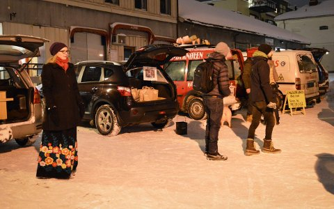 Reko-ringen i Kongsberg 30. januar. Foto: Jenny Ulstein
