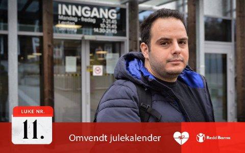 Nådde bunnen: Bader Kash (28) flyktet fra Aleppo i Syria og kom til Norge i september 2015. Den første tiden var vanskelig. Nå er livet travelt, men godt.