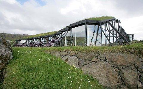 KULTURHUS: Kari Anne Helleberg Bahri åpner utstilling på Nordens Hus på Færøyene 13. juni.