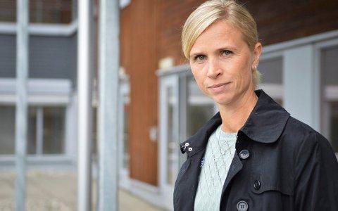 NYTT TILFELLE:  Ane Wigenstad Kvamme, kommuneoverlege i Kongsberg, opplyser at det nå sitter tre personer i isolasjon, per 22. september etter påvist korona-smitte i Kongsberg. Foto: Jenny Ulstein.