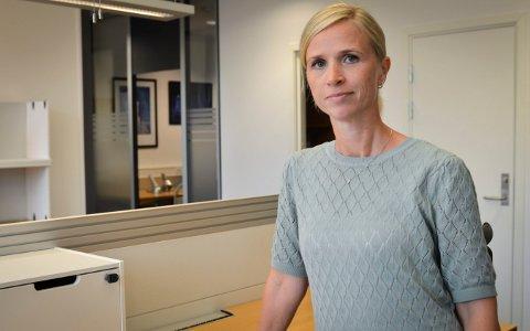 BEKREFTER SMITTE: Ane Wigenstad Kvamme, kommuneoverlege i  Kongsberg bekrefter at en ny person har fått påvist korona-smitte per 14. oktober. Til sammen har nå tre personer i Kongsberg korona.