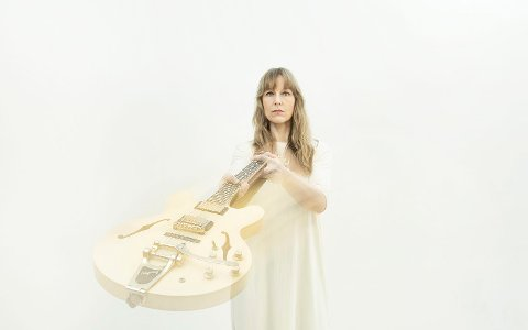 TAKKER FOR PRISEN: Hedvig Mollestad fikk pris under fjorårets jazzfestival, og skal takke for den med konsert i november.