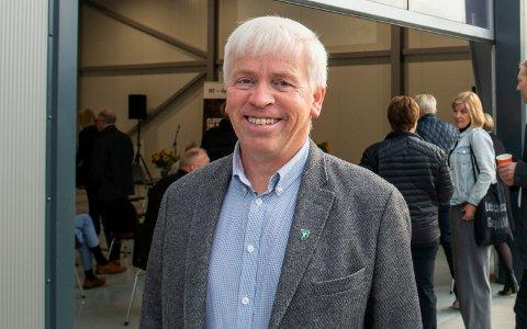 VAKSINERT: Flesberg-ordfører Oddvar Garaas har fått AstraZeneca-vaksinen. Dette bildet er tatt ved en annen anledning.