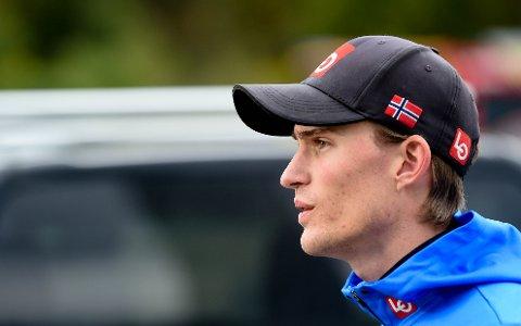 FJERDEPLASS: Daniel-André Tande ble nummer fire i søndagens COC-renn i Midtstua. FOTO: OLE JOHN HOSTVEDT