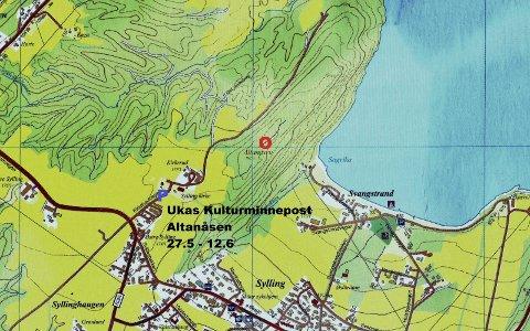 NYT UTSIKTEN: Fra Altanåsen kan man skue vidt ut over Sylling og Holsfjorden.