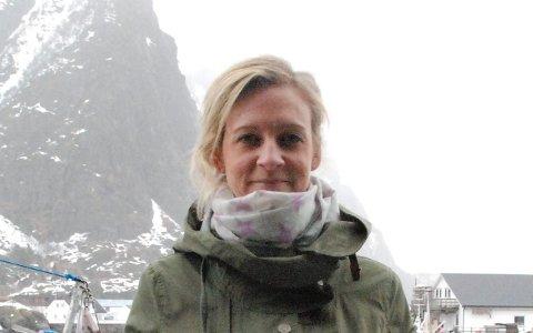 Nettspørsmål: Siri Listau Johansen spør hvordan det er med breibåndsutbygging på Gimsøy. Foto: Arkiv