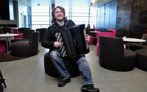 Konsertklar: Sammen med Leif Jone Ølberg skal Terje Brun holde to konserter denne helga.    Foto: arkiv