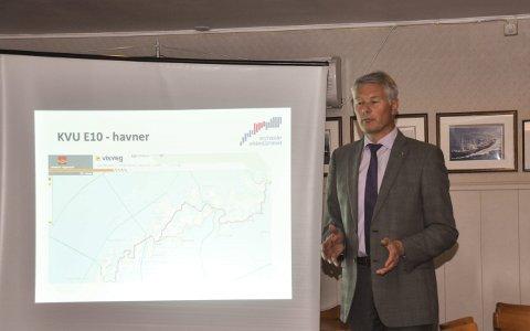 Fungerende: Richard Sandnes vil fungere som teknisk sjef i Flakstad fram til 1. november. Foto: Lise Fagerbakk