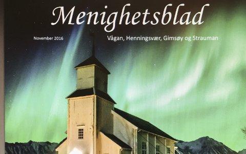 Nytt menighetsblad for Vågan menighet med Gimsøy, Henningsvær, Strauman og Kabelvåg inkludert.