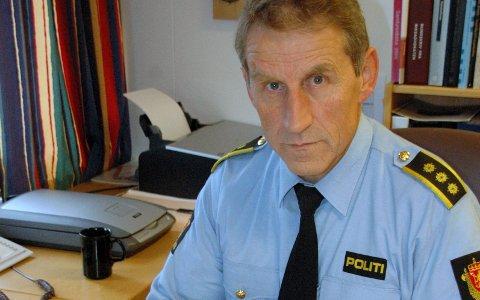 ALVORLIG: Lensmann Asbjørn Sjølie er bekymret over de mange ruskjøringene de siste dagene