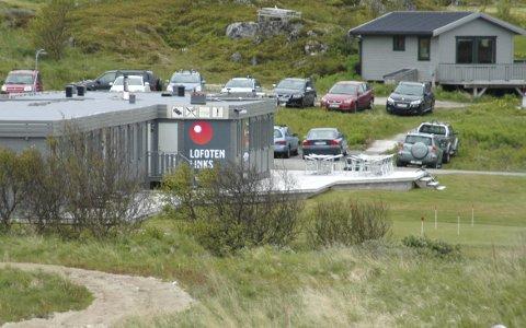 Åpner: Lofoten Links åpner golfbanen lørdag.FOto: Arkiv