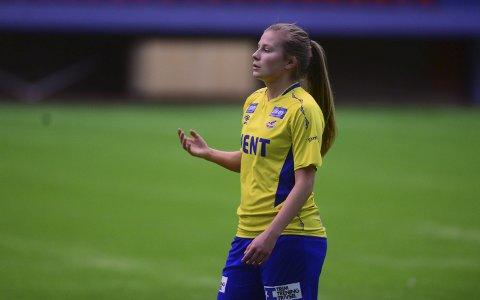 Banens Beste: Cesilie Andreassen ble av OMT Fotballside kåret til banens beste i oppgjøret mot TUIL.Arkivfoto