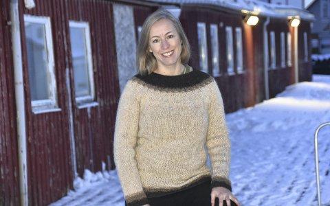 Stolt: Kristel Pedersen er fra den siste uka mest kjent for sitt Facebook-innlegg om hvor stolt hun er av å være en del av fiskerinæringa. I denne artikkelen blir nvi litt bedre kjent med henne. Foto: Eirik Eidissen