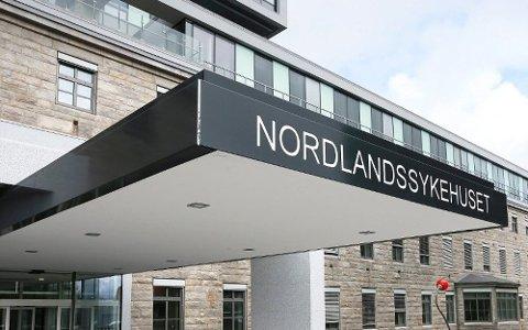 BODØ: En person er innlagt i Bodø, og det er den eneste i Nordland