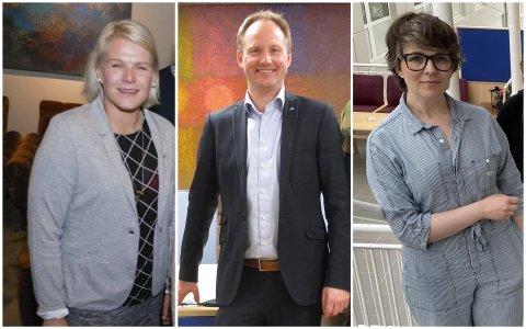 Hilde Holand, Remi Solberg og Øydis Hana.