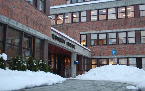 Rådhuset på Leknes (illustrasjon).