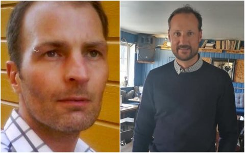 Ken Evan Olsen på Tapperiet bistro på Reine fikk fredag besøk av kronprins Haakon.