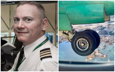 Mads Otterstad er widerøepilot og instruktør på flyskrekkurset Lufta er for alle.