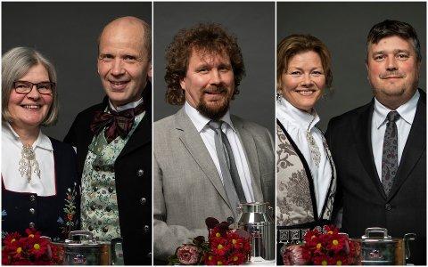 Lill og Trond Kroken, Leif Kåre Halvorsen samt Tove og Steffen Benjaminsen hedres med pris. Det gjør også Ole Martin Kristoffersen, som ikke var til stede da bildet ble tatt.