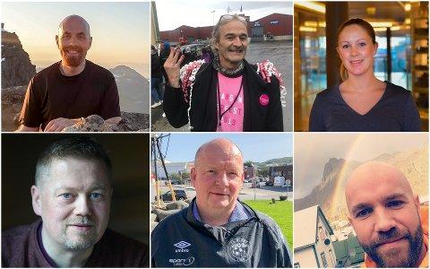 Yngve Toften, Torbjørn Gabrielsen, Kjersti Krüger, Tor-Arne Fikseth, Reidar Samuelsen og Christian Winther Farstad.