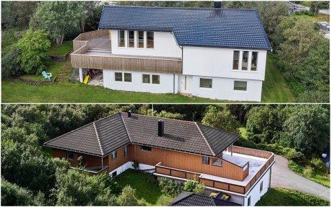 Hagebyveien 53 og Einlia 24 er to boliger som ligger ute til en høy pris.
