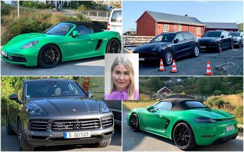 De siste to ukene har Lofot-Tidende observert en rekke Porscher i Lofoten, blant annet her i Nusfjord. Maren Helgestuen i Porsche Norge forteller hva de har gjort her.