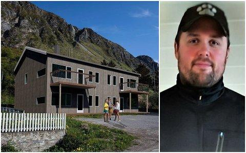 Byggmester Egil-Arne Myklebust AS, her representert ved Mats-Åge Myklebust, skal bygge nye leiligheter på Ramberg.
