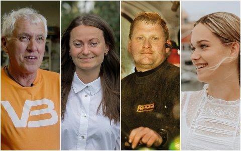 Alf Stig Holsmo, Laila H. Svensson Høyen, Levi Holdahl og Hanne Lovise Johnsen.