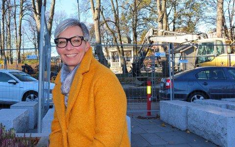 Snart: Ordfører Hanne Tollerud inviterer til åpningen av skøytebanen ganske snart.