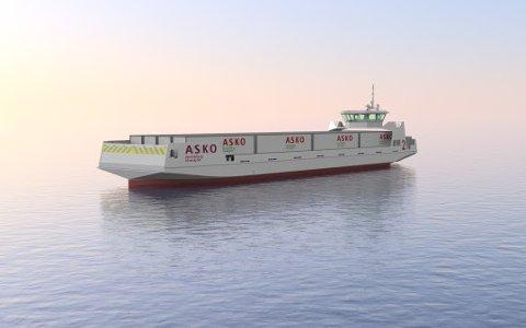 STORT PROSJEKT: Asko satser stort på prosjektet med førerløse el-skip over Oslofjorden. Nå får de viktig støtte fra Enova.
