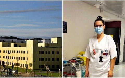 Strömstadsboende Zanna Kummel Ohlsson jobber som sykepleier ved Sykehuset Østfold Kalnes, og må bruke munnbind på jobb hvis hun har hatt fri i mer enn ti dager.