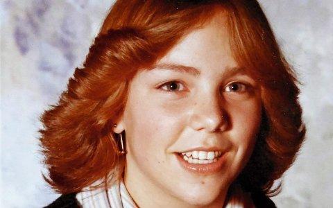 Skolebildet til Debora Harding, 14 år, tatt bare timer før hun ble kidnappet og voldtatt.