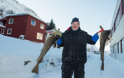AKTIV: Helge Leikvik (65) gikk fra banksjef til sjarkfisker, og setter stor pris på å være en aktiv pensjonist.