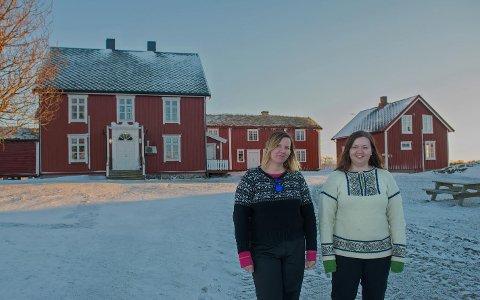 KLARE: Sissel Hole og Wenche Jarlesdottir Hole er klare til å begynne med turisme fra første juni.