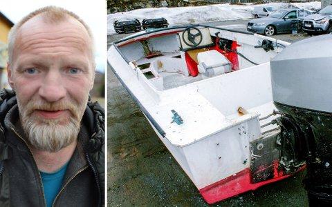 TIDLIGERE BÅTEIER: Ståle Jensvoll sier han eide båten i 2004. Den gang så båten noe annerledes ut.